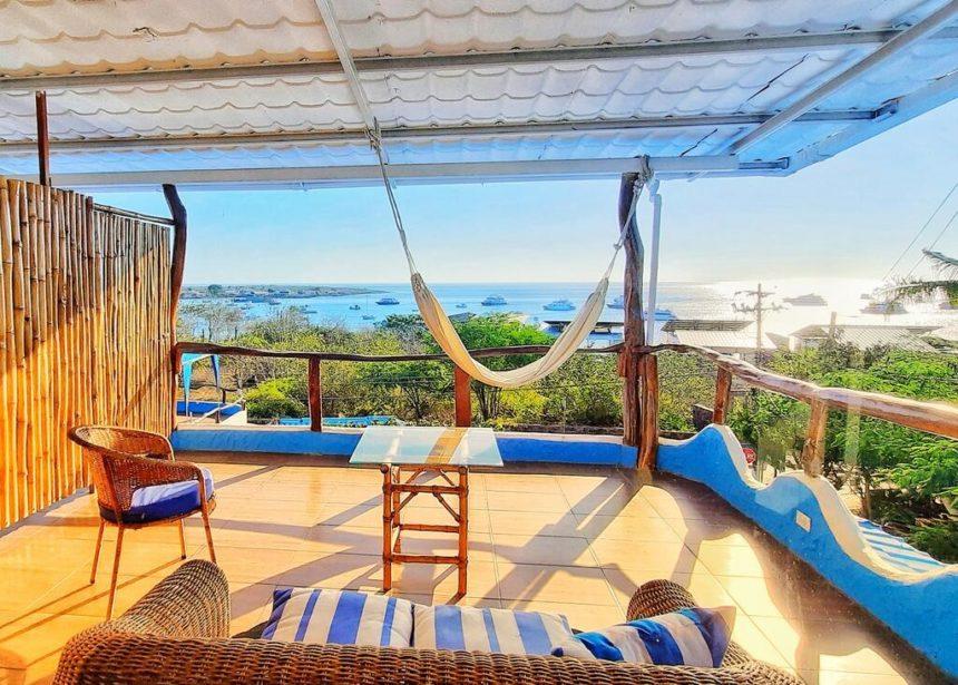 Casa Playa Mann Terrace with hammock
