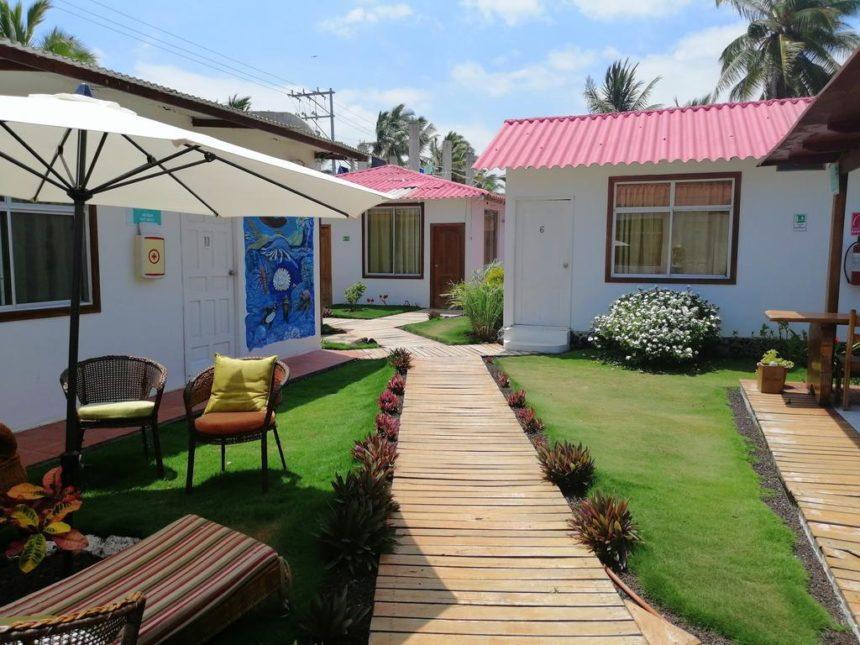 Hotel Coral Blanco garden