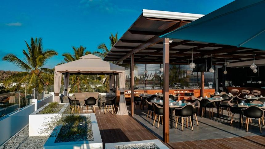 Ikala hotel restaurant deck