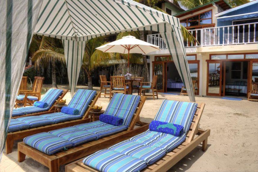 isabela beach house sunbeds