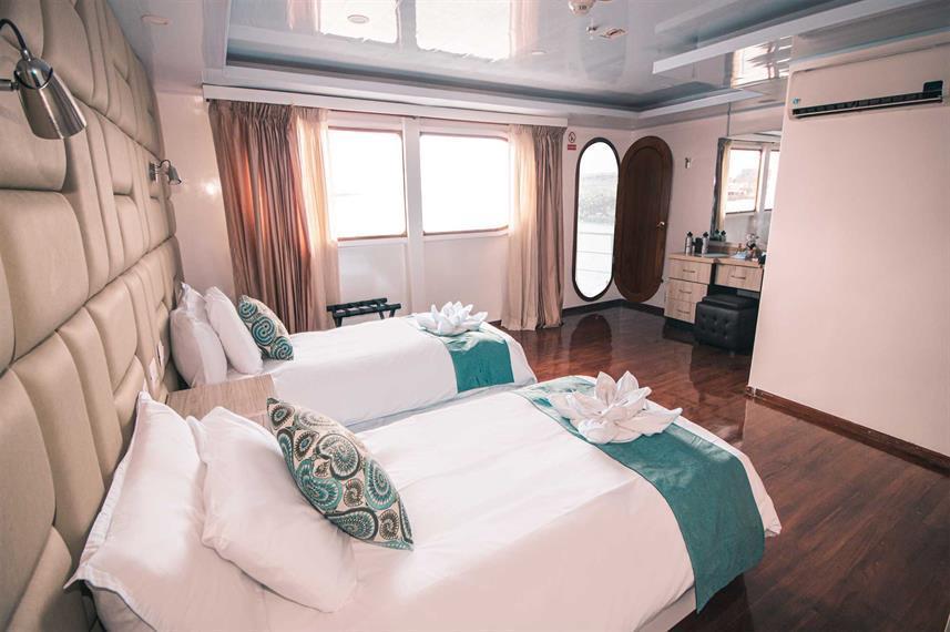 Petrel cruise ship luxury cabin