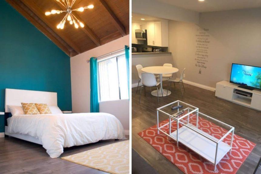 2 bedroom - Airbnb near Disneyland  - bedroom