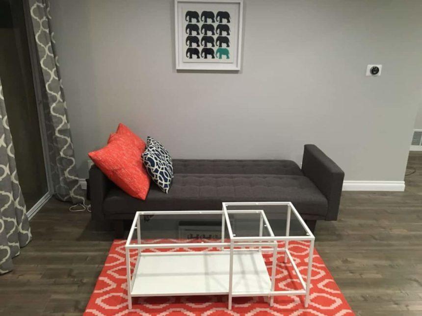2 bedroom - Airbnb near Disneyland  - living room