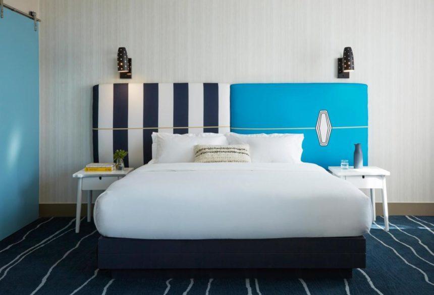 kimpton shore break hotel room