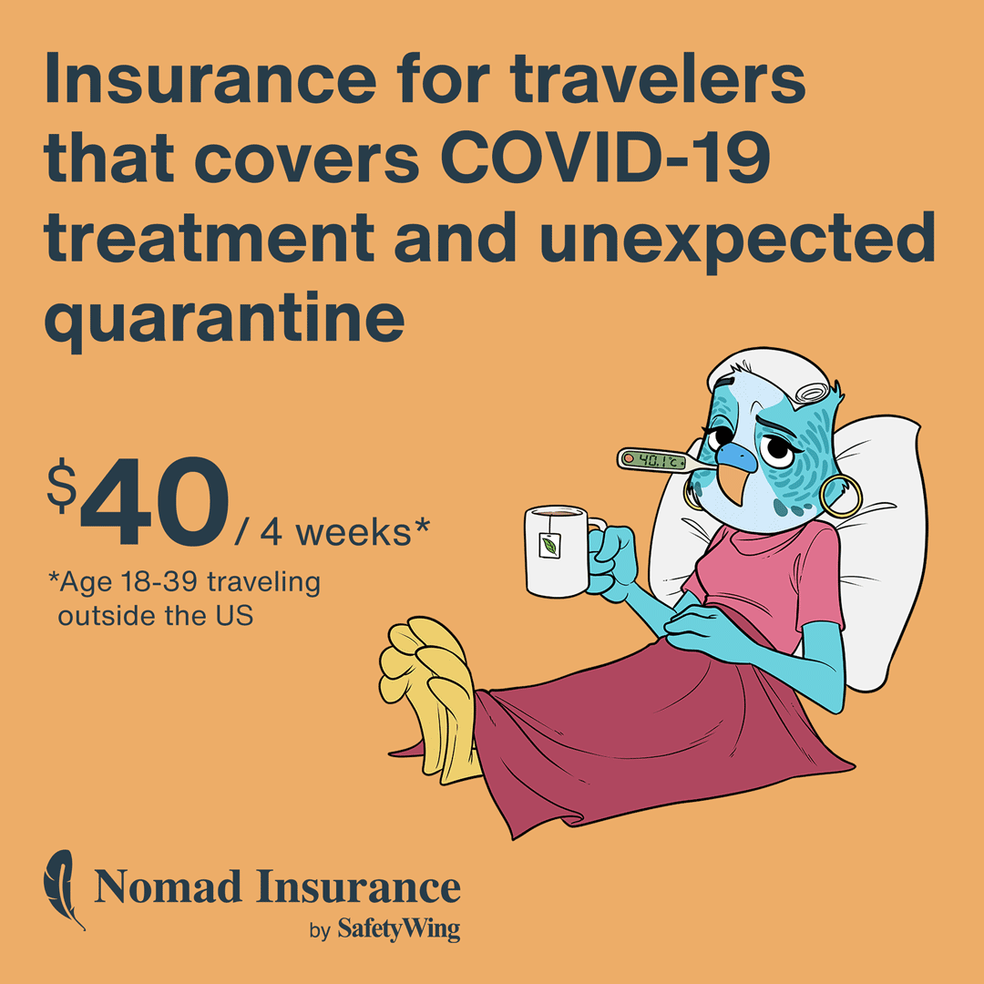 SafetyWing - Insurance for Nomads, by Nomads - Get a quote