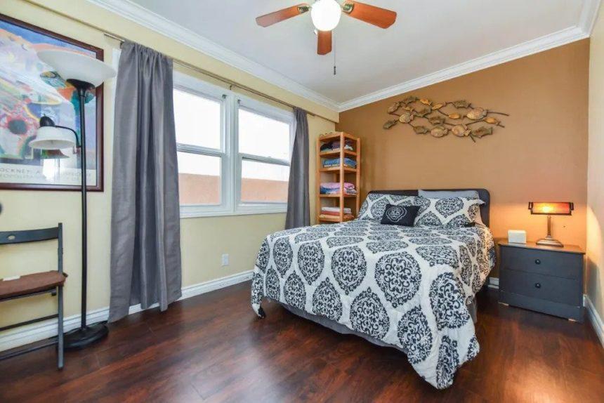 new port beach apartment bedroom