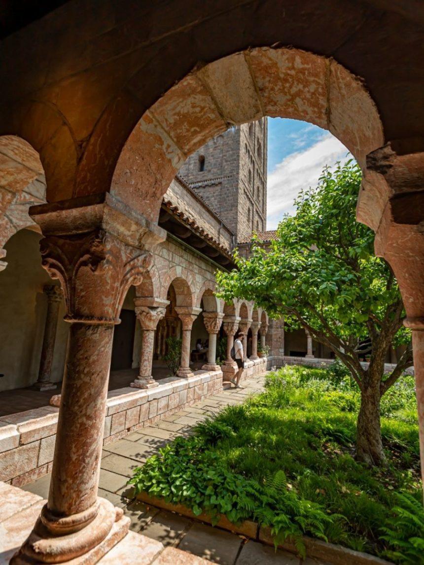 an old cloister