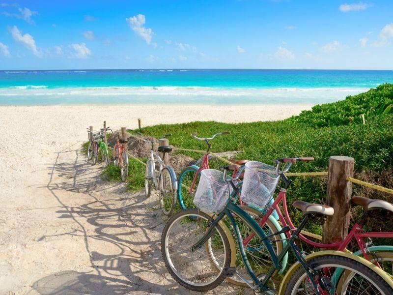 Tulum Beach access