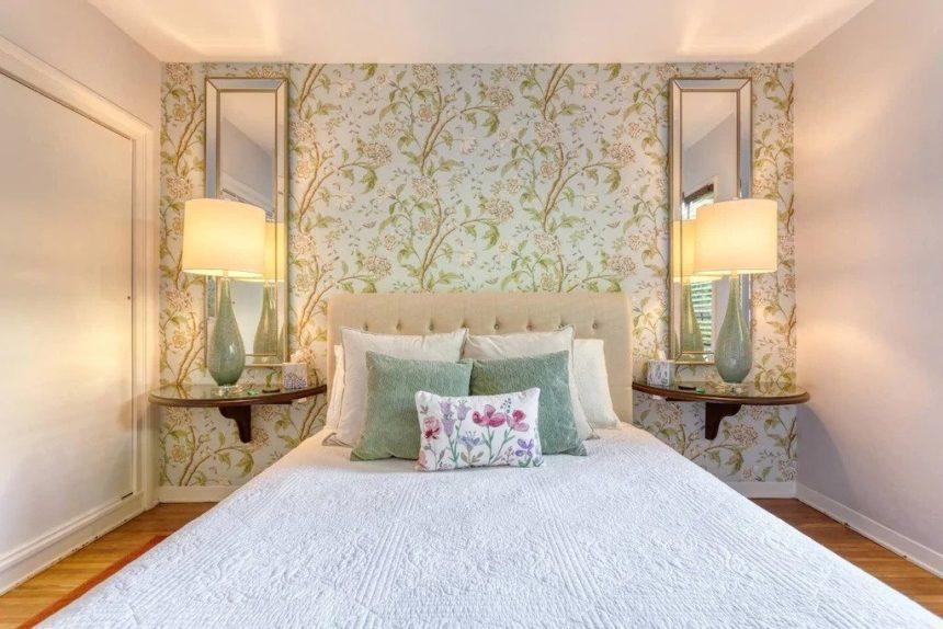 vintage bedroom - Airbnb Anaheim