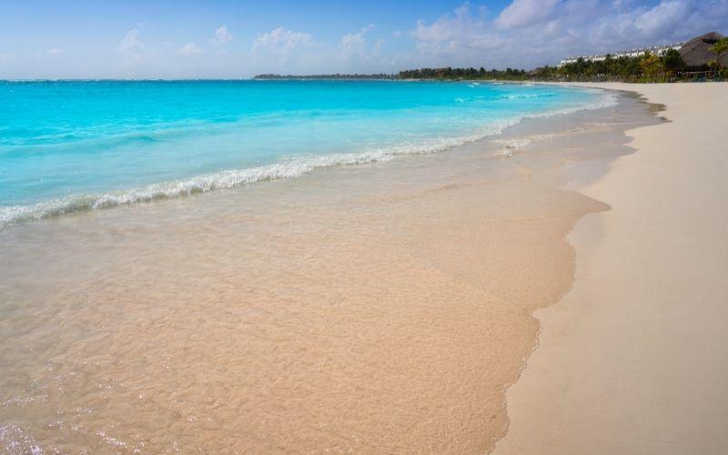 Akumal Beach sand