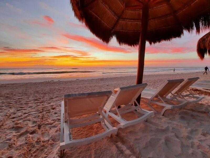 Ana Y JOse beach sunrise