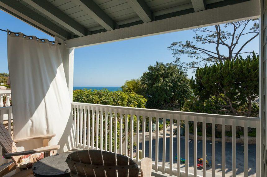 beach Cabana patio views