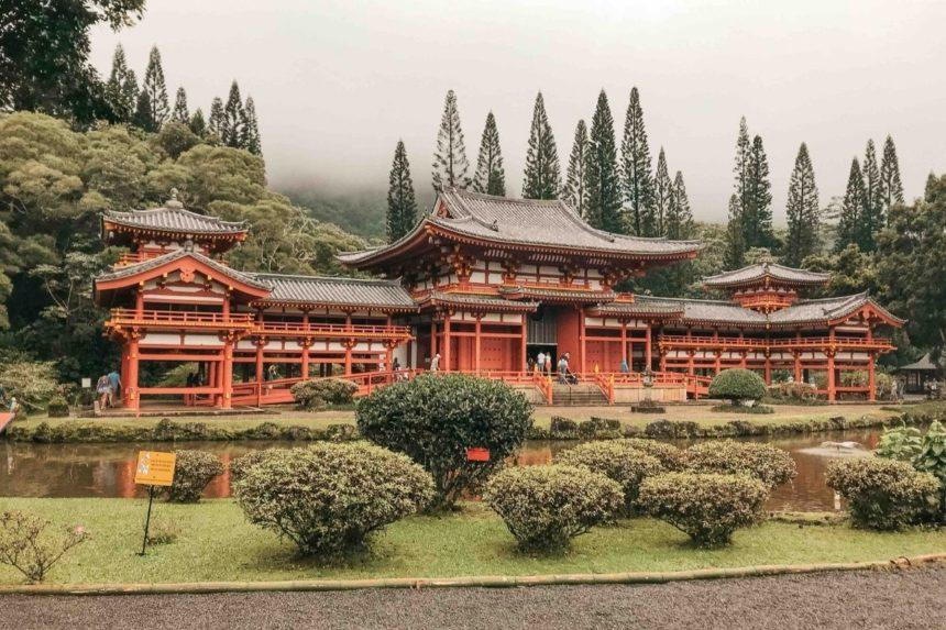 byodo temple ohau