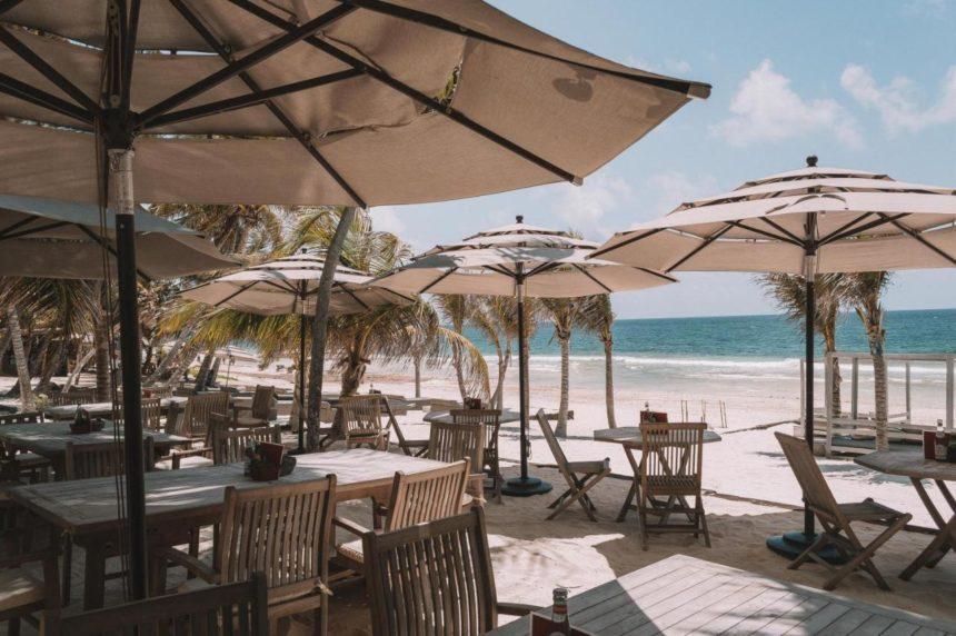 casa malca restaurant on the beach