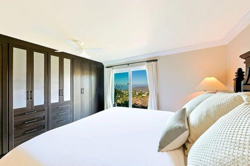 contemporary home bedroom