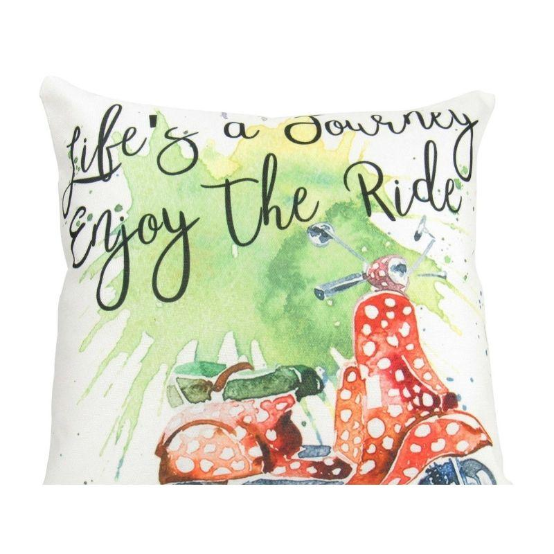 Life's a Journey  Pillow Cover  Travel Quote  Throw | Etsy