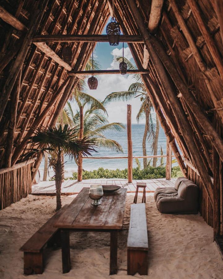 papaya playa beach cabana