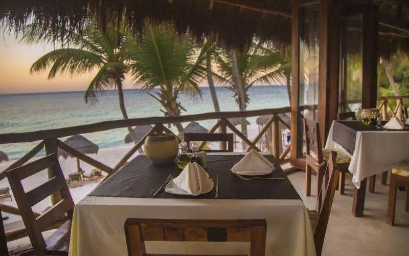restaurant ocean front
