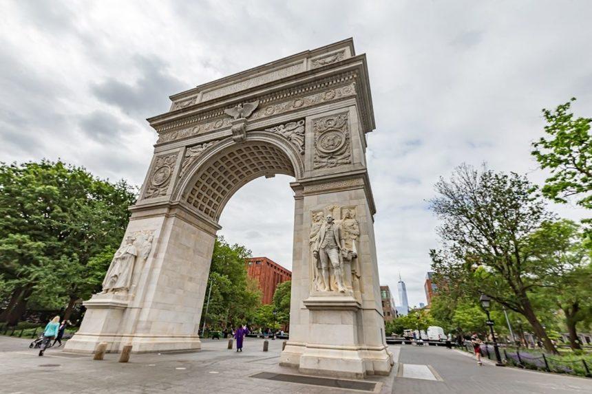 Arch at Washington square