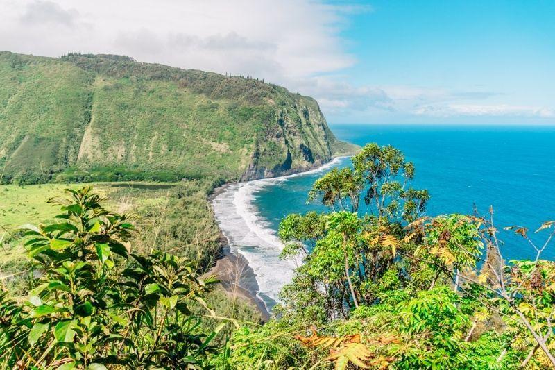 Big island beach overview