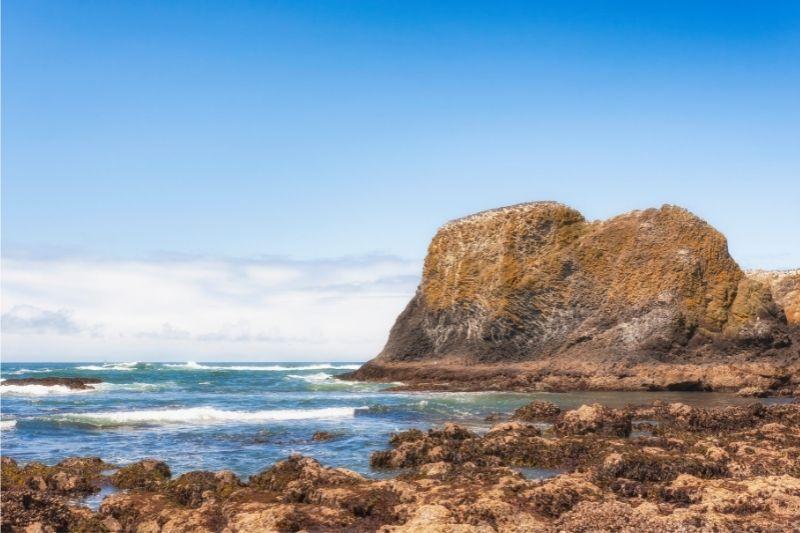 Cobble beach Oregon