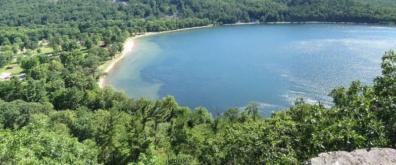 Devil lake state park overview