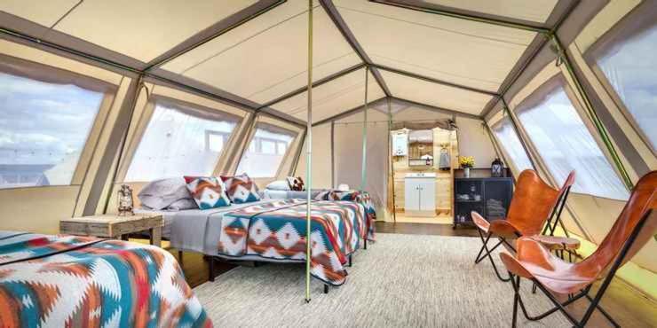 Eco camps temecula interior