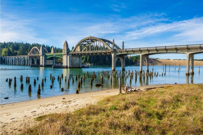 Florence Bridge in Oregon