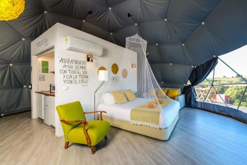 Reserva Alecrim EcoSuite & Glamping Bedroom
