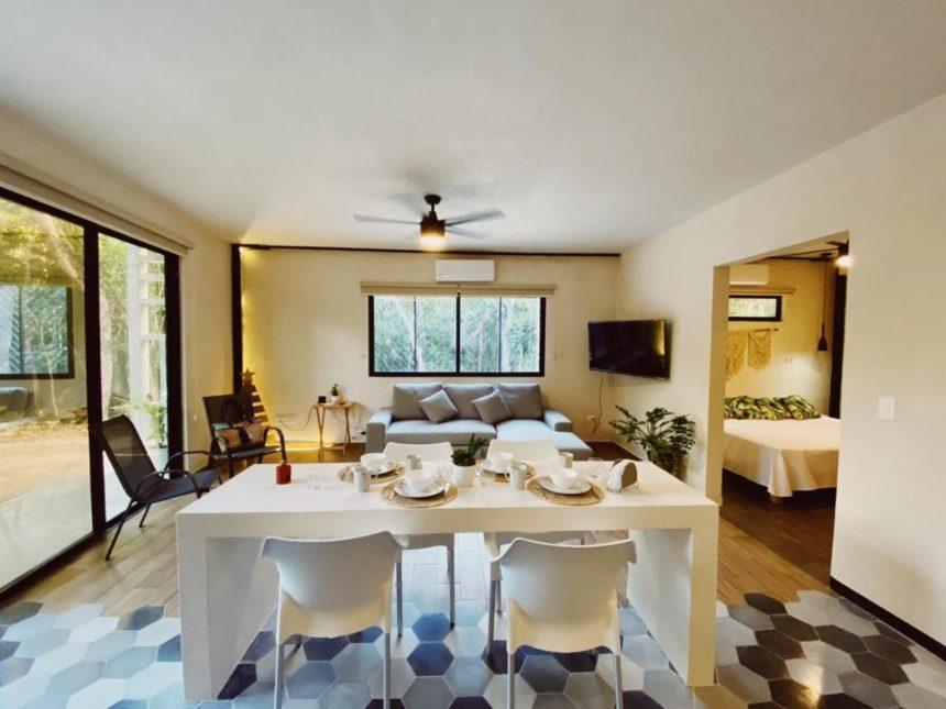 living room halaken condo