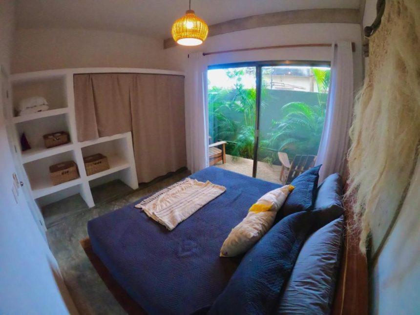 Jungle loft bedroom