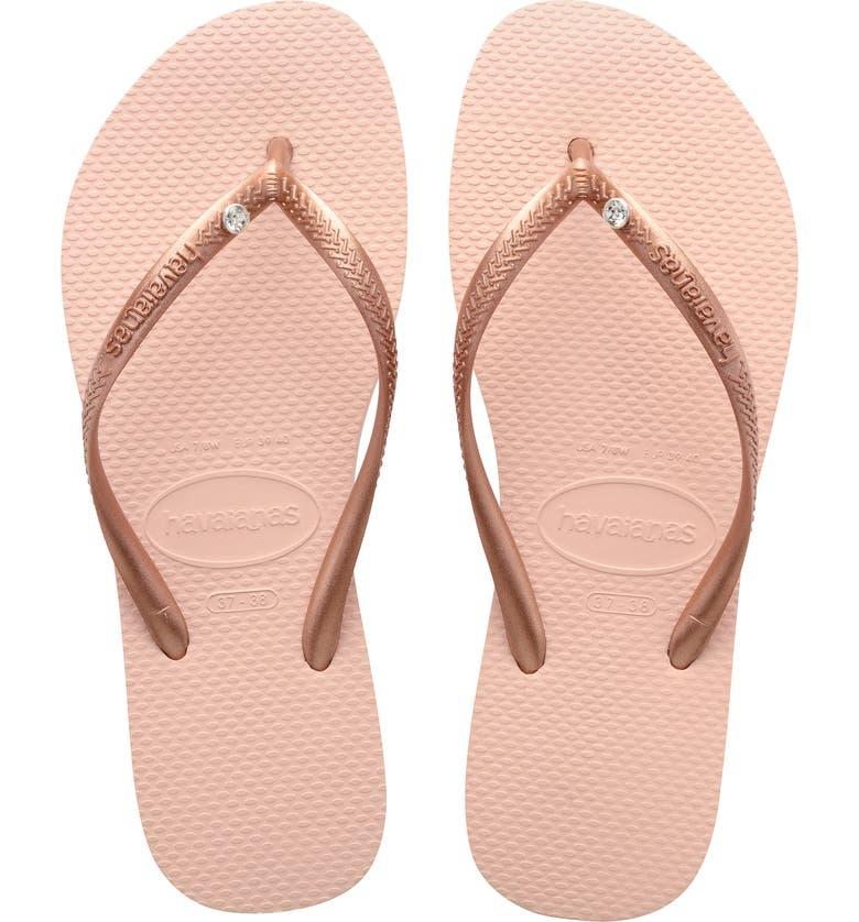 Slim Crystal Flip Flop | Havaianas