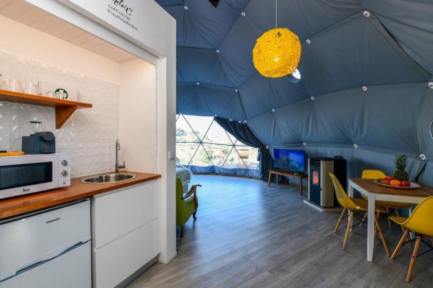Reserva Alecrim EcoSuite & Glamping kitchen
