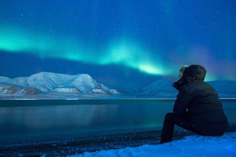 northern light svalbard