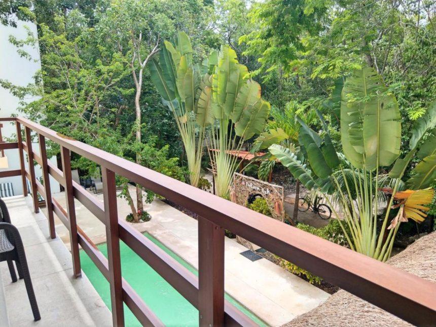 Tulum Nah balcony