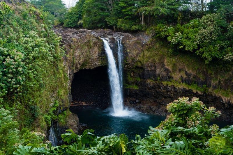 Big Island waterfall Hawaii