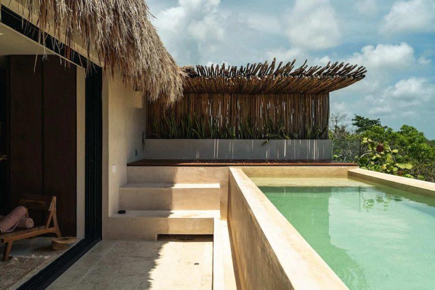 alexa luxury penthouse in Aldea Zama - pool