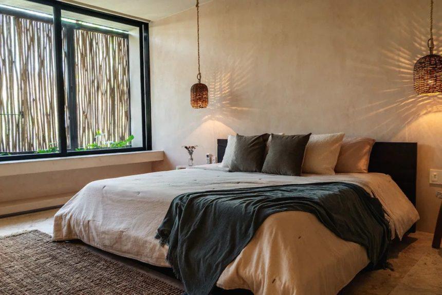 alexa luxury penthouse in Aldea Zama  bedroom