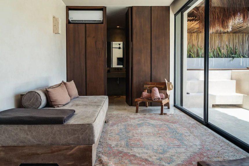 alexa luxury penthouse in Aldea Zama - patio