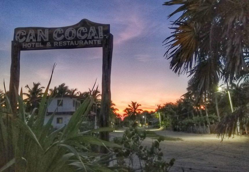 Can cocal entrance sunset