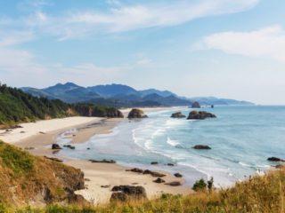 Canon beach Oregon Coast