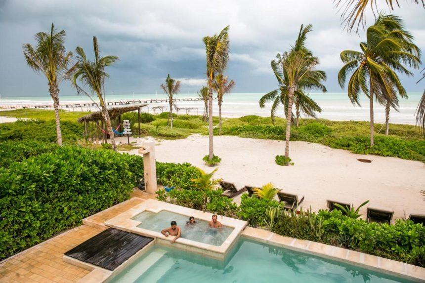 Hotel casa el cielo pool