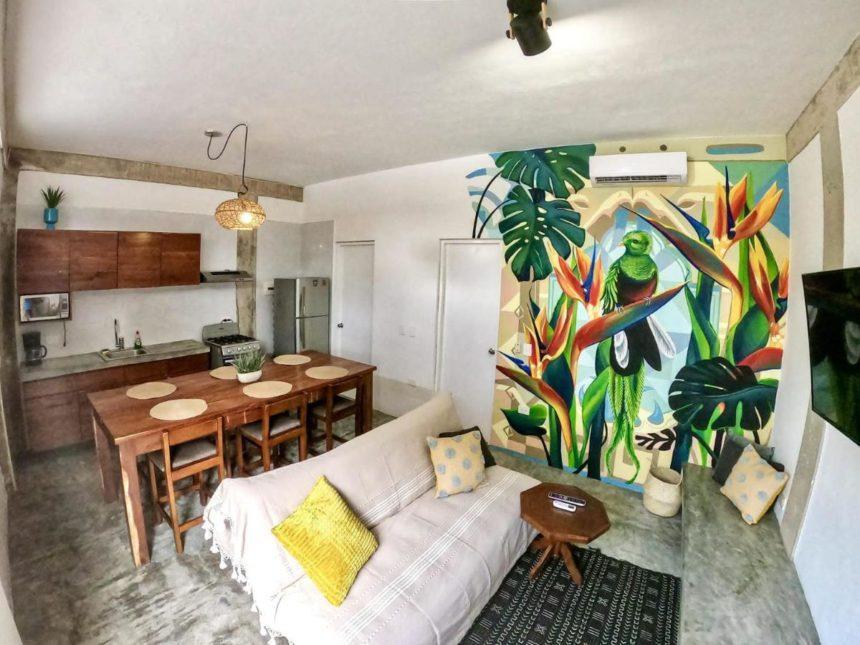 Jungle loft living