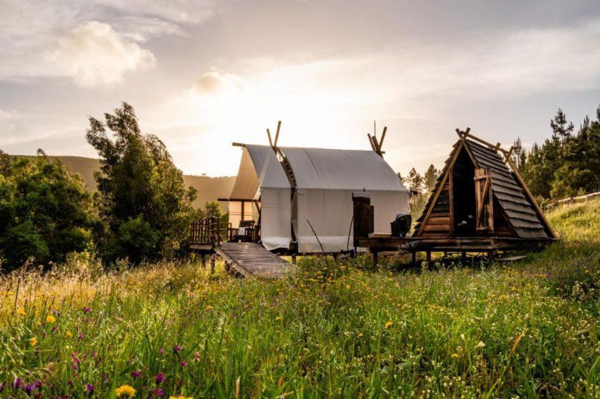 Quinta Alma camp tent overview