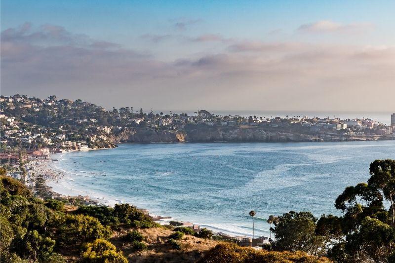 San Diego La jolla beach
