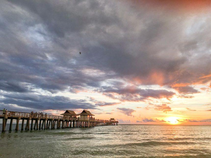 Sunset in Naples Florida