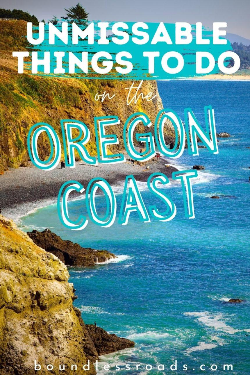 Pin Unmissable things to do in Oregon - Oregon coast