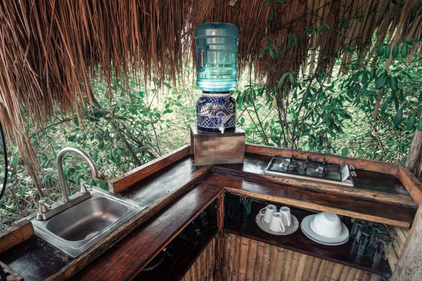 Tree House kitchen tulum