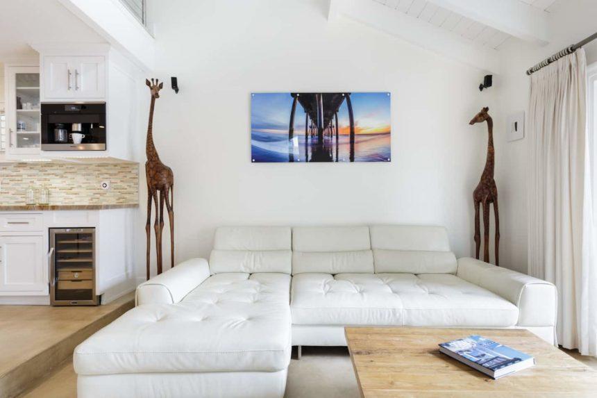 Airbnb ocean house living