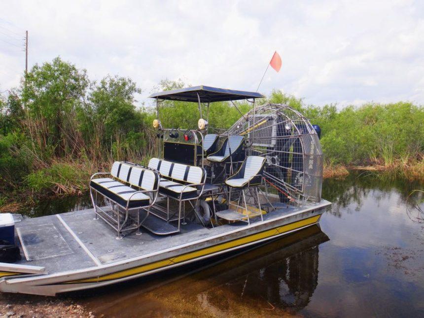 Everglades near Miami Florida